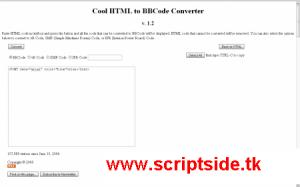 HTML to BBCODE Converter [HTMLden BBCodeye Çevirme] Demo