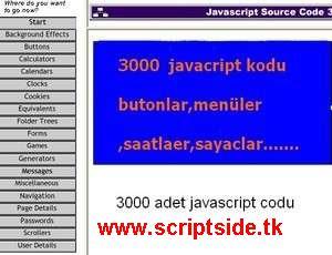 3000 Javascript Kodu Demo