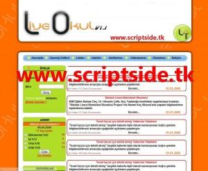 Live Okul v1.1 Portal Scripti Demo