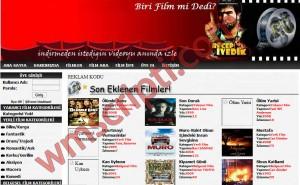 Online Film İzleme Scripti Demo