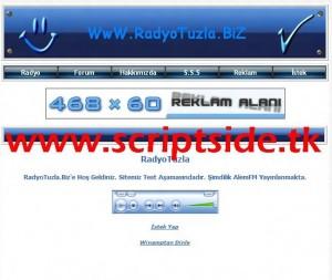 Online Radyo Dinleme Scripti Demo