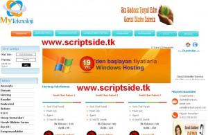 Myteknoloji Hosting Scripti Demo