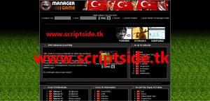 Online Futbol Menajer Scripti Demo