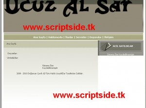 Ucuz Al Sat Scripti Demo