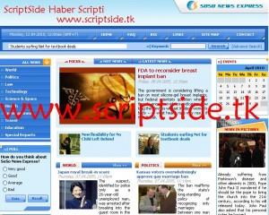 SoSo News Express Pro v2.2.0 Haber Scripti Demo