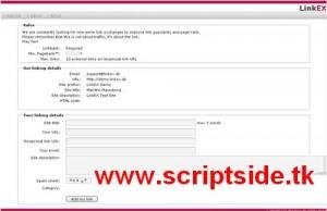 Link Değiştirme Scripti – Backlink Scripti Demo