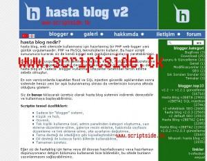Hasta Blog v2.3 Blog Scripti – Hasta Blog Blog Scripti Demo