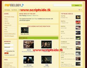 PHP Melody 1.6.3 Video Scripti Görseli
