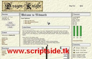 Dragon Knight Online Oyun Scripti Görseli