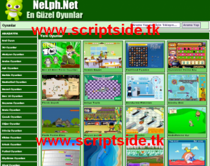 Nelph v1.2 Flash Oyun Scripti Görseli
