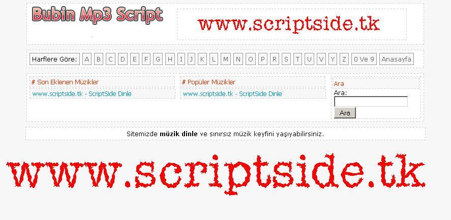 Bubin Botlu Mp3 Scripti Demo