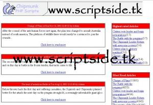 CMScore İçerik Yönetim ve Haber Scripti Demo