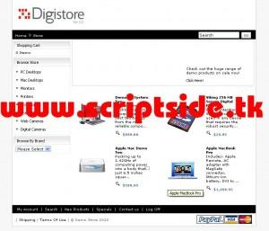 DigiStore v4.0 Alışveriş Scripti Demo