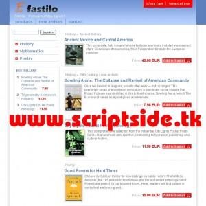 Fastilo v2.0 Alışveriş Scripti Demo
