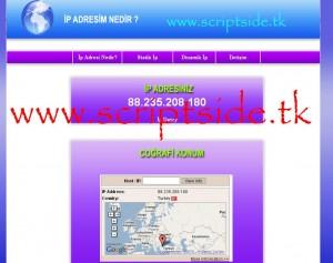 IP Öğrenme Scripti – IP Bulma Scripti Demo