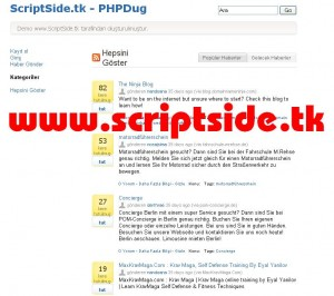 Kubelabs PHPDug Blog Scripti Demo