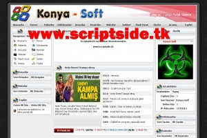 Şehir, Köy Portal Scripti Demo