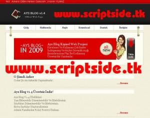 Ays Blog v1.4 Blog Scripti Demo
