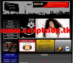Hosbesshow v2.0 Radyo Portalı Scripti Demo