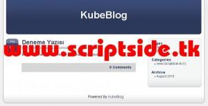 KubeBlog v1.1.2 Blog Scripti Demo