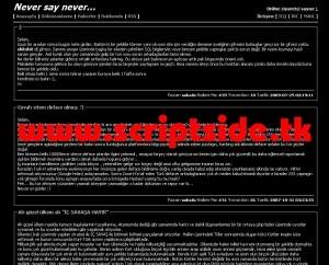 NapalmNUKE v0.2 Blog Scripti Demo