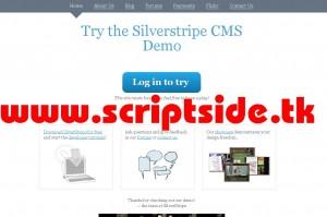 Silverstripe v2.3.6 İçerik Yönetim Scripti Demo