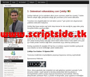 Snews v1.7 Blog Scripti Demo