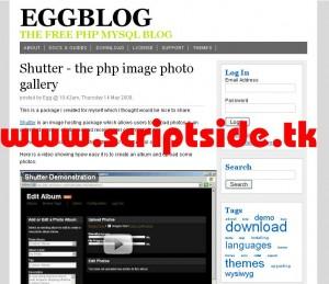 eggBlog v4.1.2 Blog Scripti Görseli