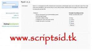 Fpoll v1.1 Anket Scripti Demo