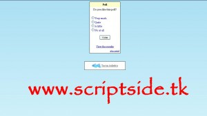 IP Detecting Poll Anket Scripti Demo