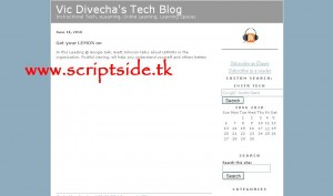 mBlog Blog Scripti Demo