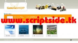 GaleriaSHQIP v1.0 Resim Galerisi Scripti Demo