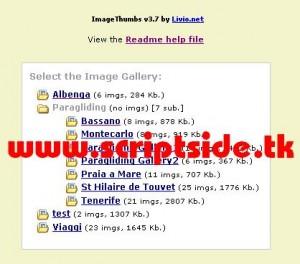 ImageThumbs v3.7 Resim Galerisi Scripti Demo