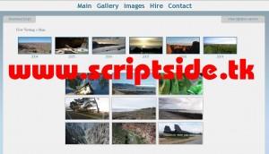Saurdo Gallery v3.0 Resim Galerisi Scripti Demo