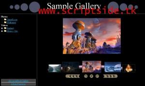phPhotoGallery v0.92 Resim Galerisi Scripti Demo