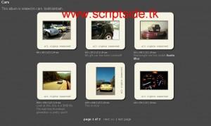 35mm Slide Gallery v6.0 Resim Galerisi Scripti Demo