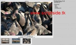 Folderblog 3.18b Resim Galerisi Scripti Demo