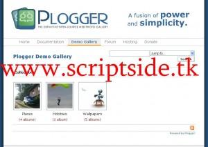Plogger v1.0 Resim Galerisi Scripti Demo