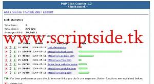 Click Counter v1.2 Tıklama Sayaç Scripti Demo