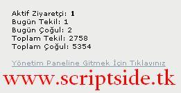Simge Sayaç v1.0 Sayaç Scripti Demo