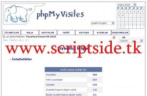 phpMyVisites v2.4 İstatistik Scripti Demo
