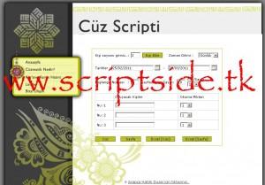 CüzMatik Online Cüz Scripti Demo