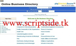 phpDirectorySource v1.1 Toplist Scripti Demo