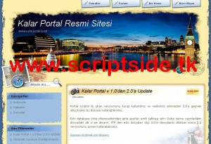 Kalar v2.0 Portal Scripti Demo