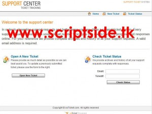 osTicket v1.6.0 Ticket Scripti Demo