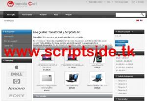 TomatoCart v1.1.8.1 Alışveriş Scripti Demo