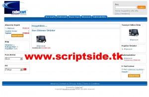 Cubecart v3.0.2 Alışveriş Scripti Demo