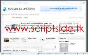NukeViet 3.1 CMS İçerik Yönetim Scripti Demo