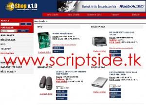 My E-Shop v1.0.2 Alışveriş Scripti Görseli