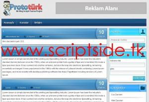 NoktaSoft v1.0 Blog Scripti Demo